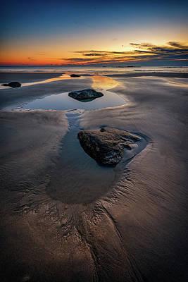 Photograph - Tranquility On Wells Beach by Rick Berk