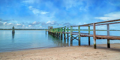 Topsail Island Photograph - Tranquility Sound by Betsy Knapp