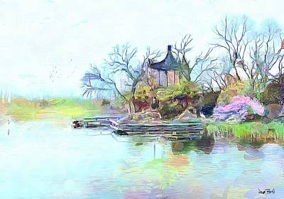 Painting - Tranquility by Wayne Pascall