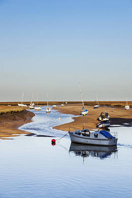 Photograph - Tranquility - Wells Next The Sea Norfolk by Gillian Dernie