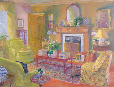 Interior Still Life Painting - Tranquility by William Ireland