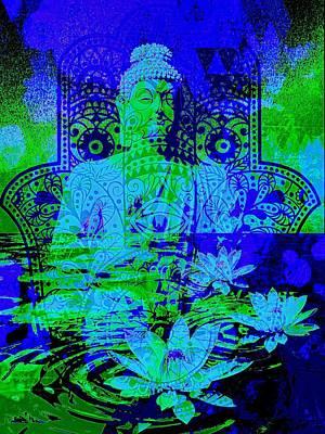 Peace Digital Art - Tranquility Zen by Brian Broadway
