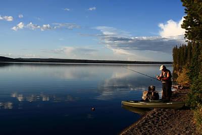 Photograph - Tranquillity - Yellowstone National Park by Aidan Moran
