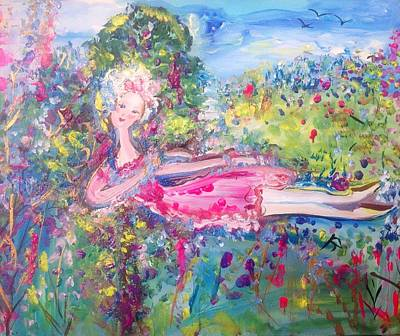Painting - Tranquilty  by Judith Desrosiers