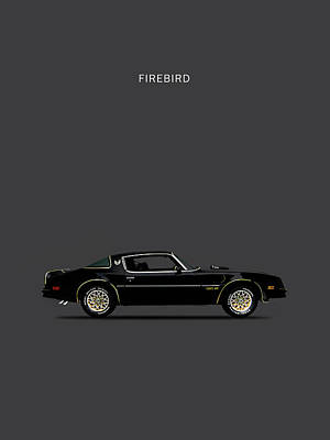 Trans Am Firebird Art Print by Mark Rogan