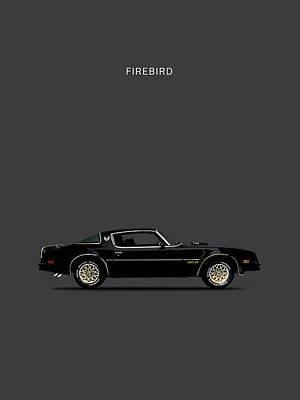 T-shirt Photograph - Trans Am Firebird by Mark Rogan