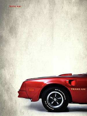 Trans Am Art Print by Mark Rogan