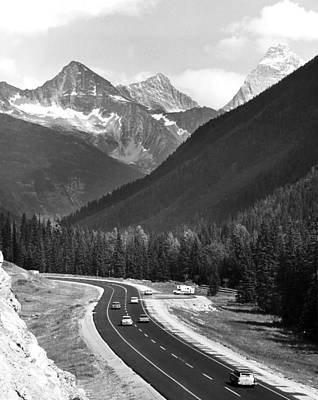 Sixties Photograph - Trans-canada Highway by Underwood Archives