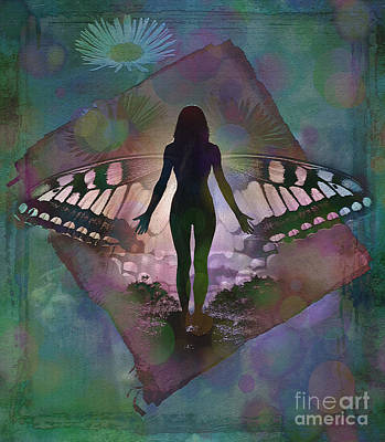 Digital Art - Transcend 2015 by Kathryn Strick