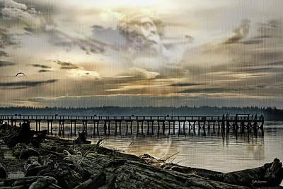 Higher Selves Digital Art - Transcend by DMSprouse Art