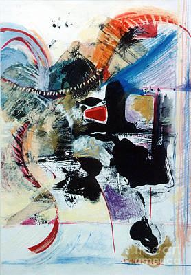 Transcendance  Art Print by Kerryn Madsen-Pietsch