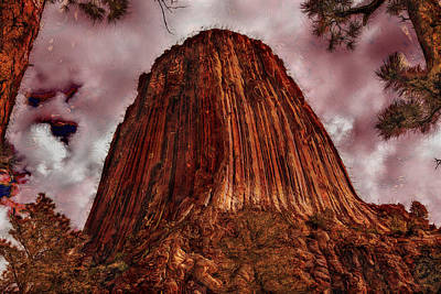 Photograph - Transcendent Devils Tower by John M Bailey