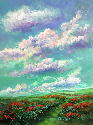 Painting - Transcending Heaven by Randy Burns