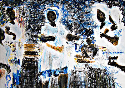 Transes Art Print by Isabelle Mbore