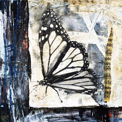 Painting - Transfer Art #12 by Stacey Brown