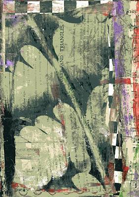 Painting - Transfer Art #9 by Stacey Brown