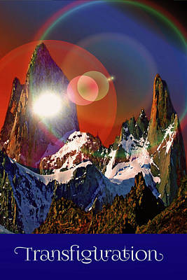 Digital Art - Transfiguration by Chuck Mountain