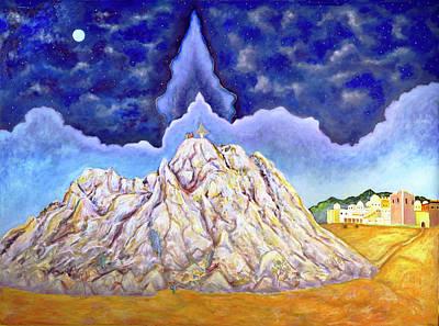 Transfiguration Painting - Transfiguration On Mount Zion Near Jerusalem by Andrew Osta