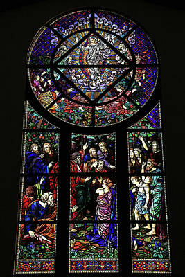 Photograph - Transfiguration Window by Donna Kennedy
