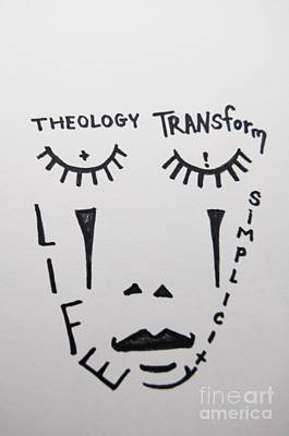 Simplicity Drawing - Transform Life  by Lisa Kleiner