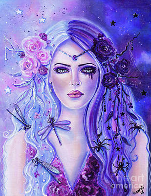 Painting - Transformation Of Persephone by Renee Lavoie