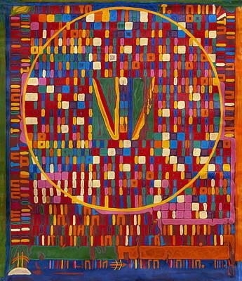 Transformation Of The Black World Art Print by Babelis Vytautas