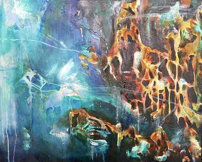Painting - Transformation Undersea by Amy Williams
