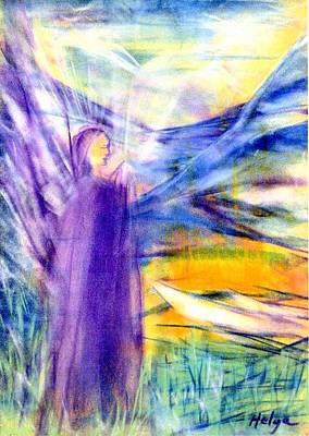 Visionary Art Painting - Transformational Peace by Helga Sigurdardottir