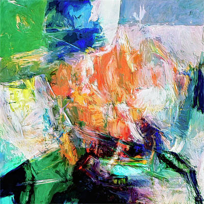 Art Print featuring the painting Transformer by Dominic Piperata