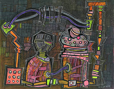 Mixed Media - Transformer Friends by Sandra Church