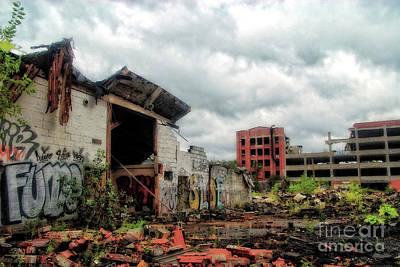 Apocalypse Detroit 2 Art Print