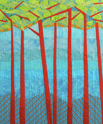 Tapestry - Textile - Transitions 1 by Linda Beach