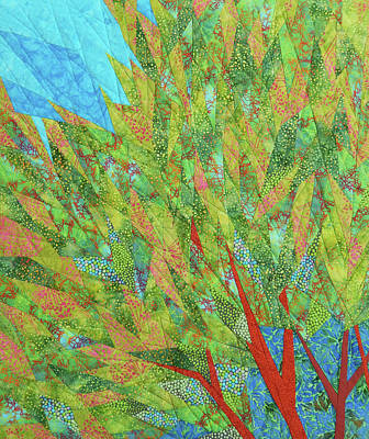 Tapestry - Textile - Transitions 2 by Linda Beach