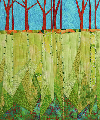 Tapestry - Textile - Transitions 3 by Linda Beach