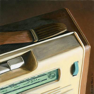 Painting - Transistor Radio by Rob De Vries