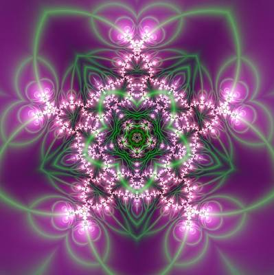 Transition Flower 5 Beats Art Print by Robert Thalmeier