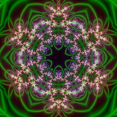 Transition Flower 6 Beats Art Print by Robert Thalmeier