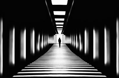 Underground Photograph - Transition by Samanta