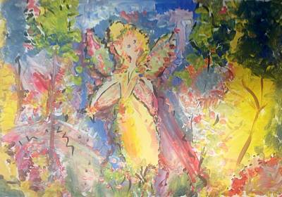 Painting - Transitional Fairy by Judith Desrosiers