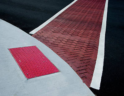 Photograph - Transitions Of The Traffic Lines by Gary Slawsky