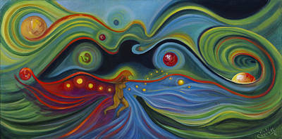 Cue Painting - Transitions by Vicki Caucutt