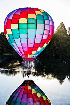 Photograph - Translucent Balloon by Mary Jo Allen