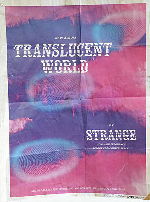 Photograph - Translucent World Poster By Terry R. Brooks by Ben Upham