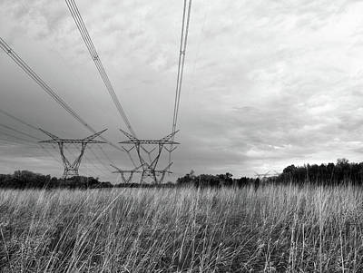 Photograph - Transmission Tower by Tom Druin