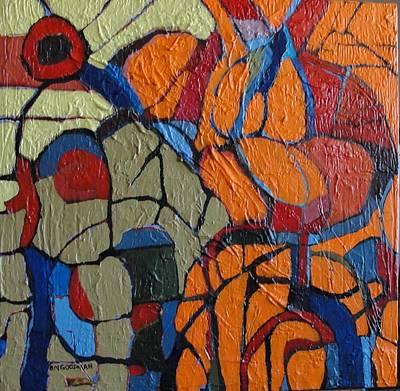 Art Print featuring the painting Transmorgrifier by Bernard Goodman