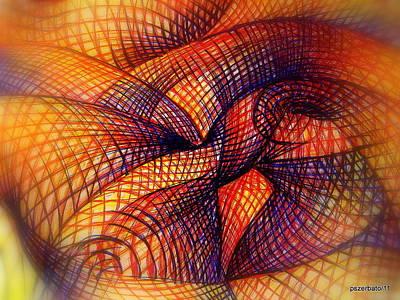 Emotionism Digital Art - Transmutation by Paulo Zerbato
