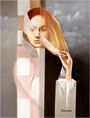 Velo Painting - Transparencias by Carlos Patricio Valdes Cavada