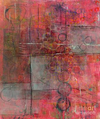 Monotype Painting - Transparency by Laurel Englehardt