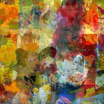 Digital Art - Transparent Layers One by Michelle Calkins