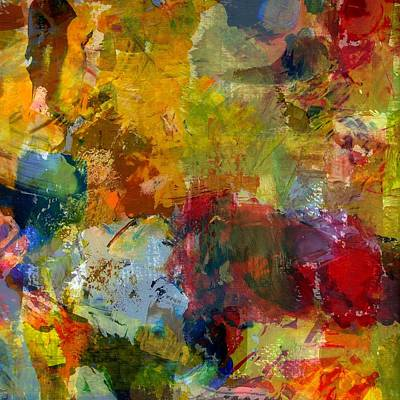 Painting - Transparent Layers Three by Michelle Calkins